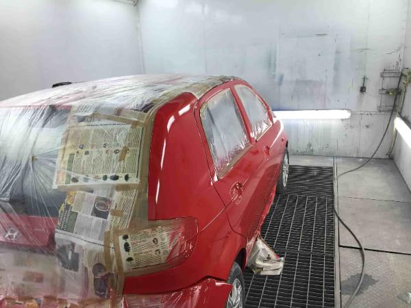 фото после покраски авто
