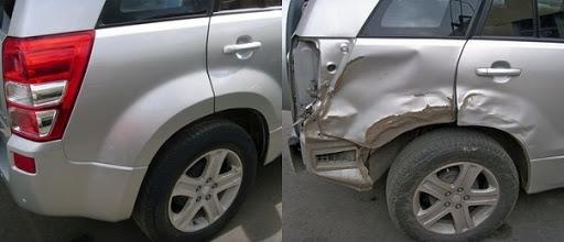 Фото ремонта крыла автомобилядо и после