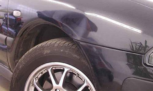 Фото крыла автомобиля