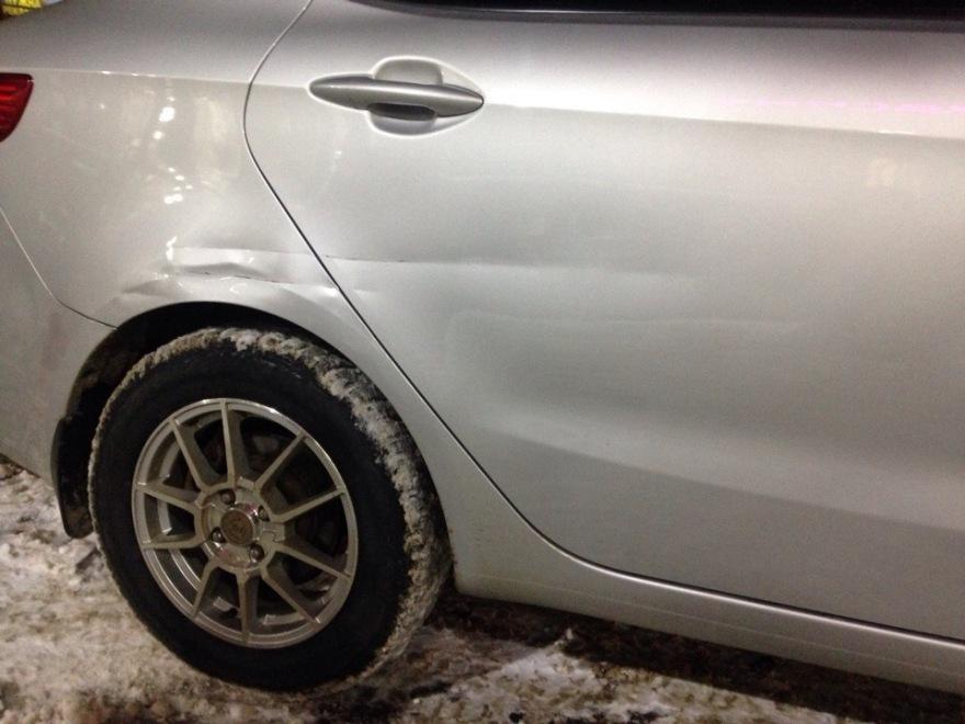 Фото автос помятым крылом