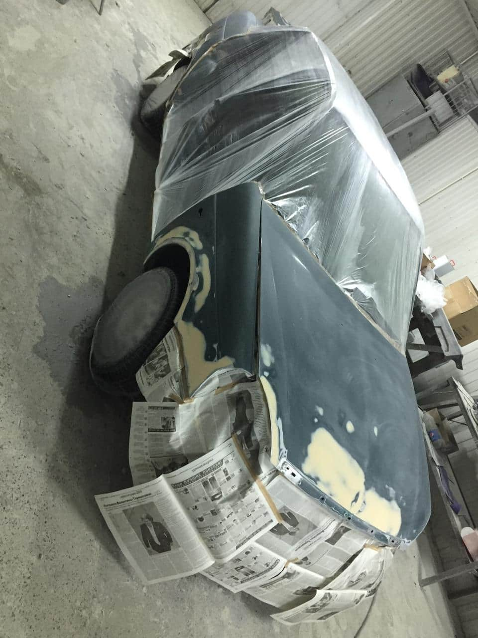 фото авто до восстановления