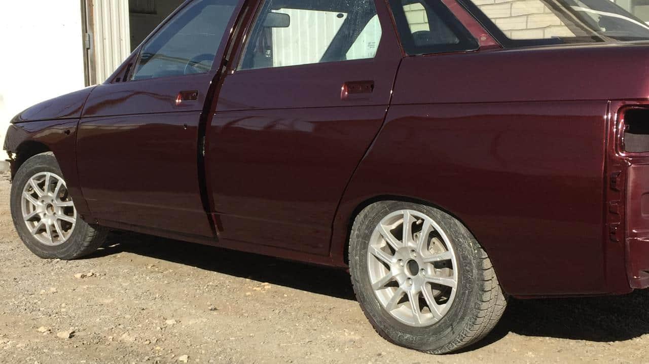 фото авто после покраски