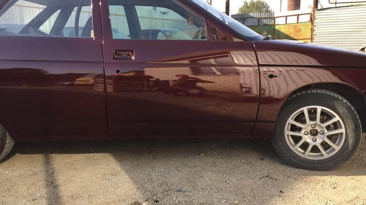 фото результата окрашивания авто