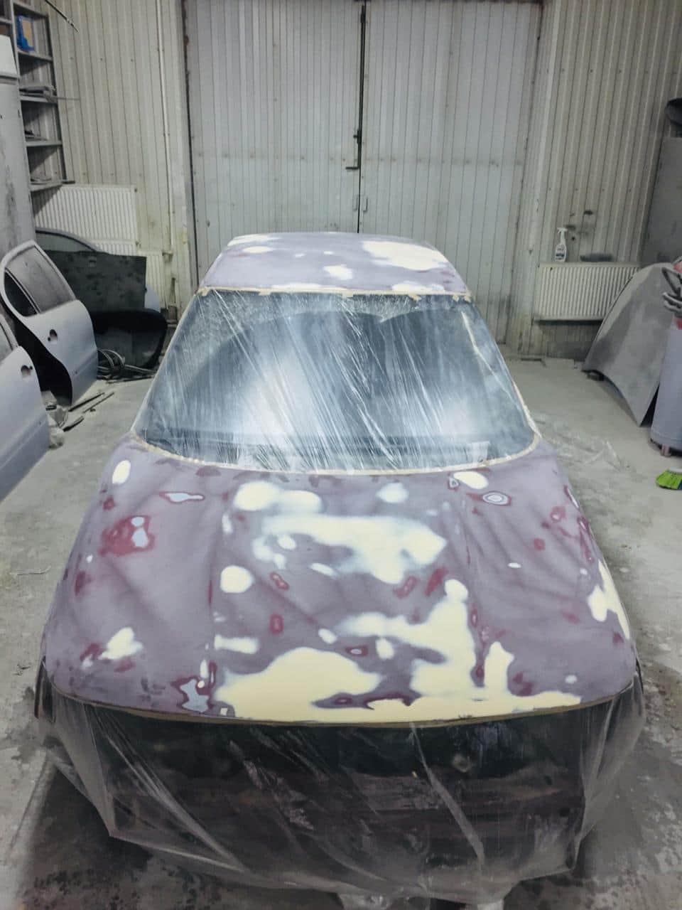 автомобиль до ремонта