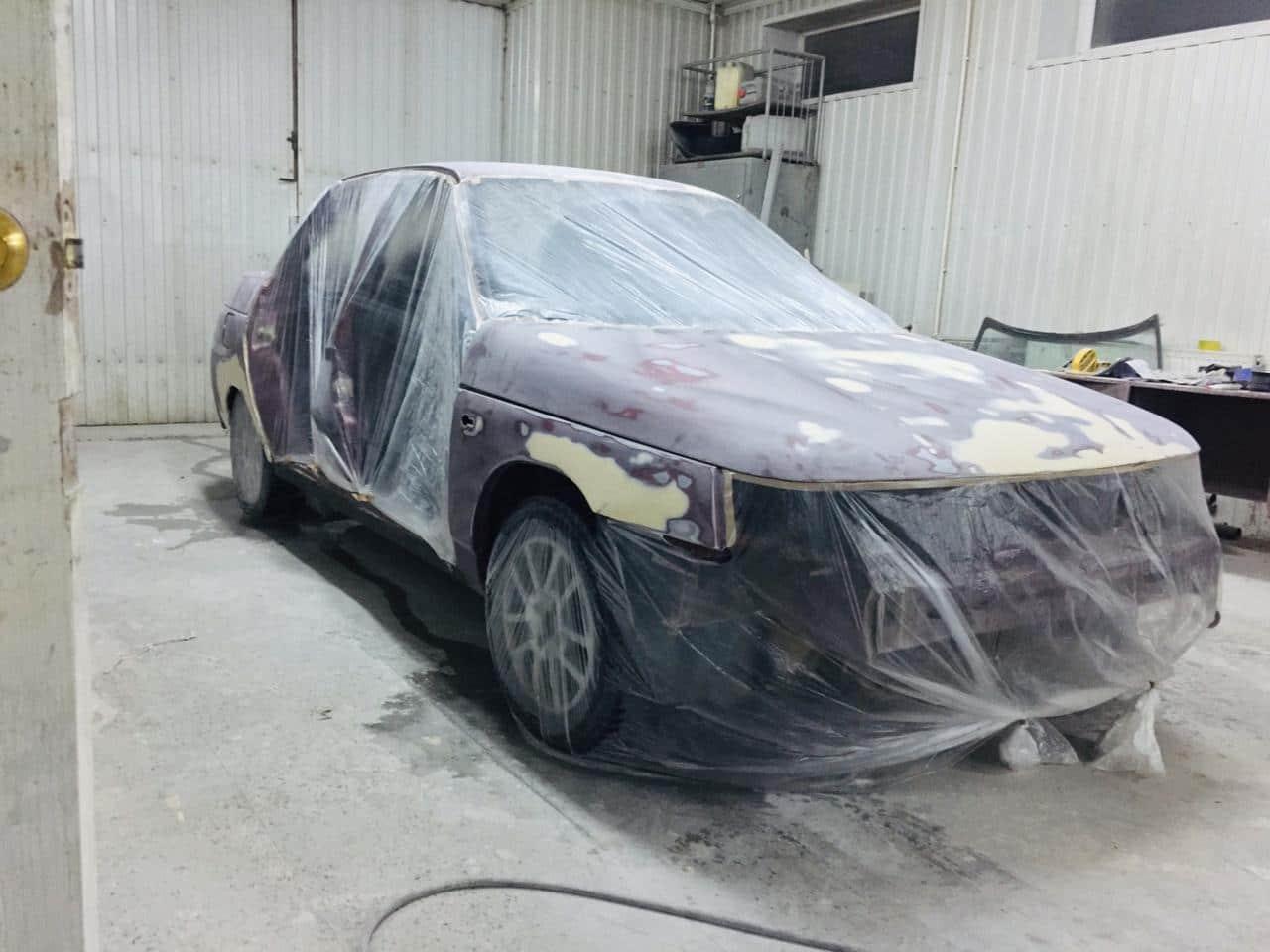 авто перед покраской
