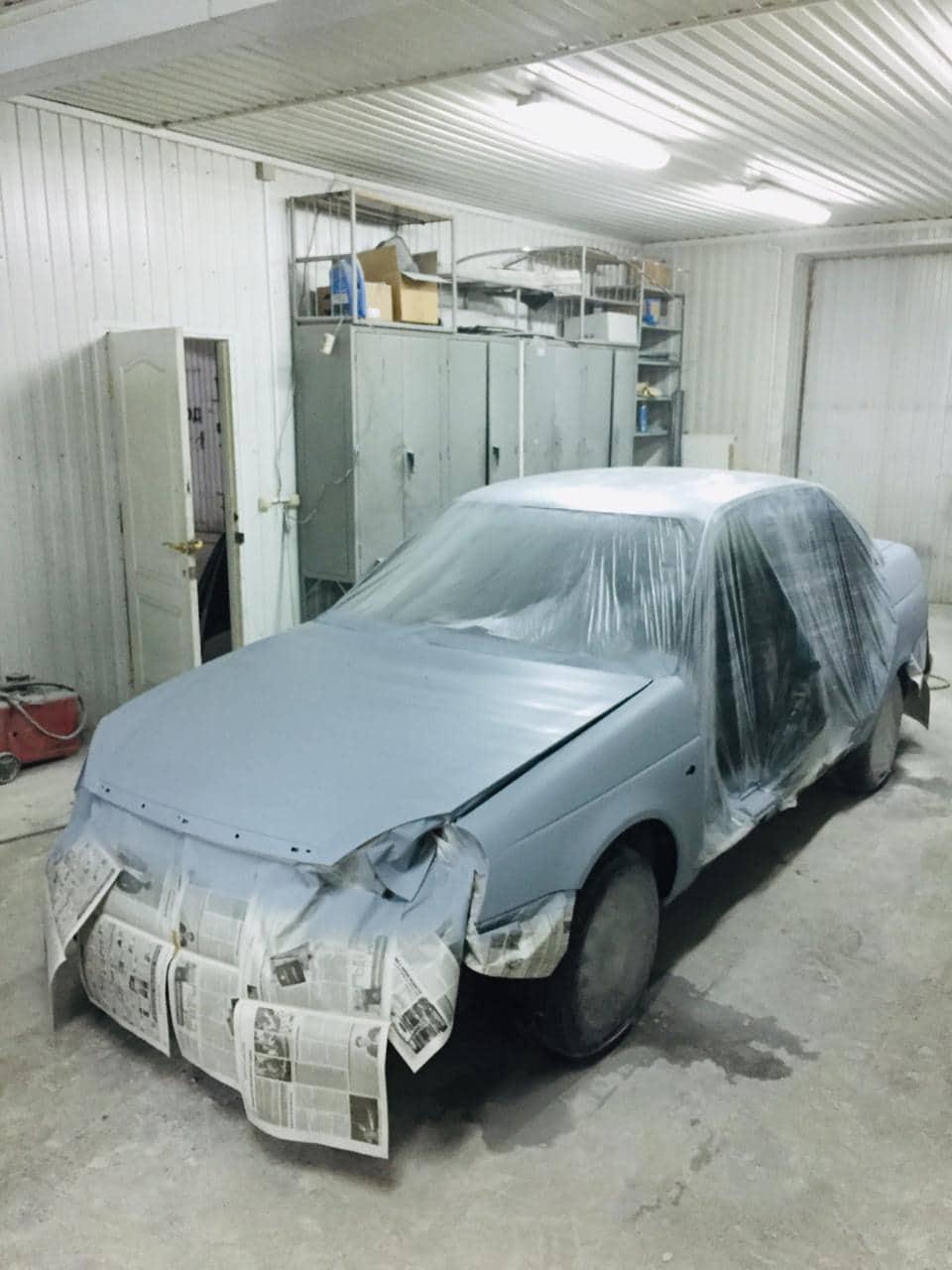 фото ремонта кузова